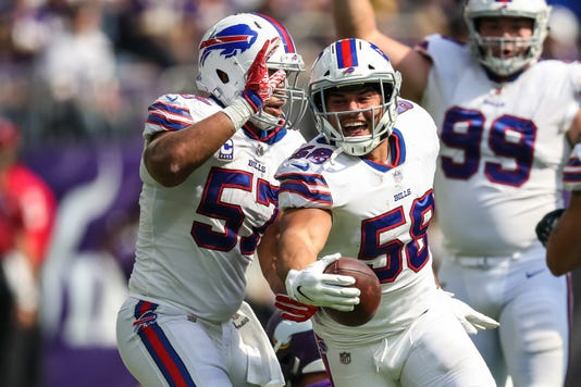 Nfl Buffalo Bills At Minnesota Vikings