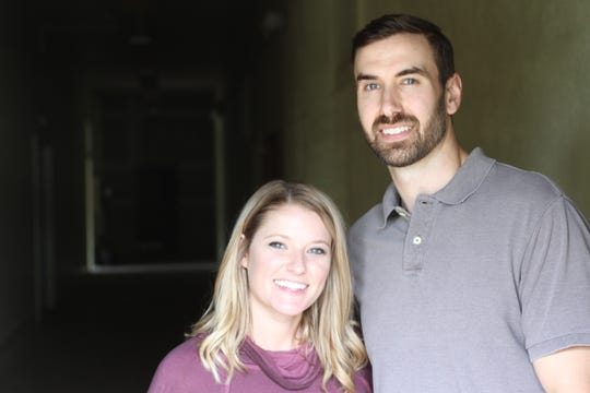 Both graduates of Appalachian State University, Audrey and Alex Worley did not meet until after completing college.