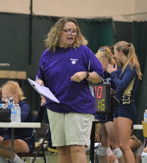 Bronson state championship volleyball coach Jean LaClair spent the summer battling leukemia and is now back on the sidelines.