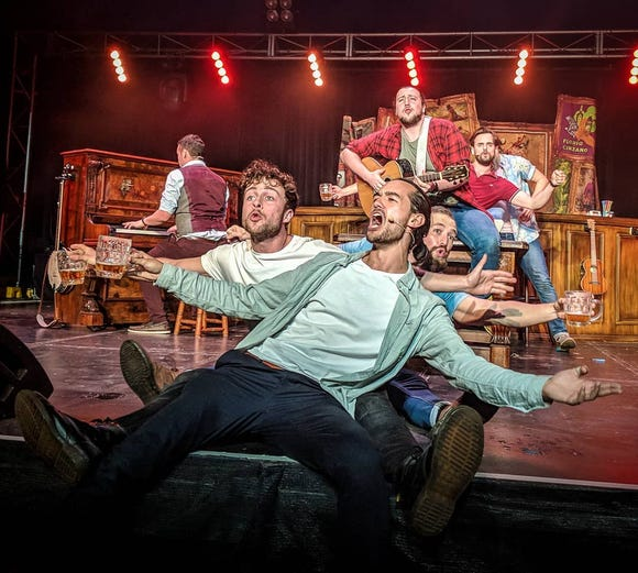 The Choir of Man perform Feb. 5 at the Admiral Theatre.