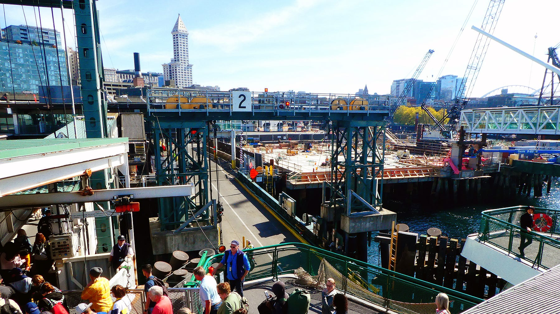 Construction at Colman Dock in Seattle is forcing more changes for passengers this week.