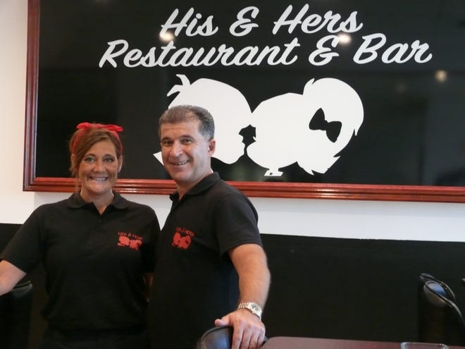 Tara and Sal Kucuk recently opened His & Hers off Babcock Street in Melbourne.