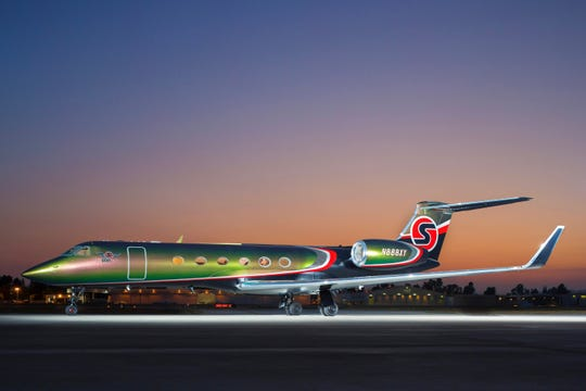 Mark Bonfigli's SEXYjet offers a premium flying experience for an exclusive clientele.