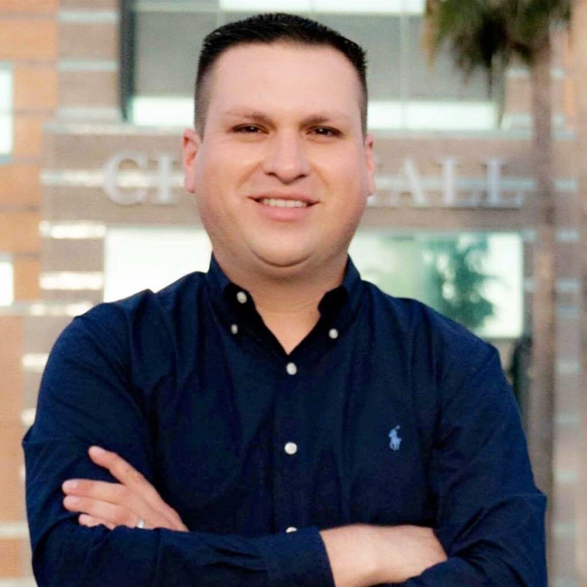 Corpus Christi City Council District 3 candidate Eric Cantu