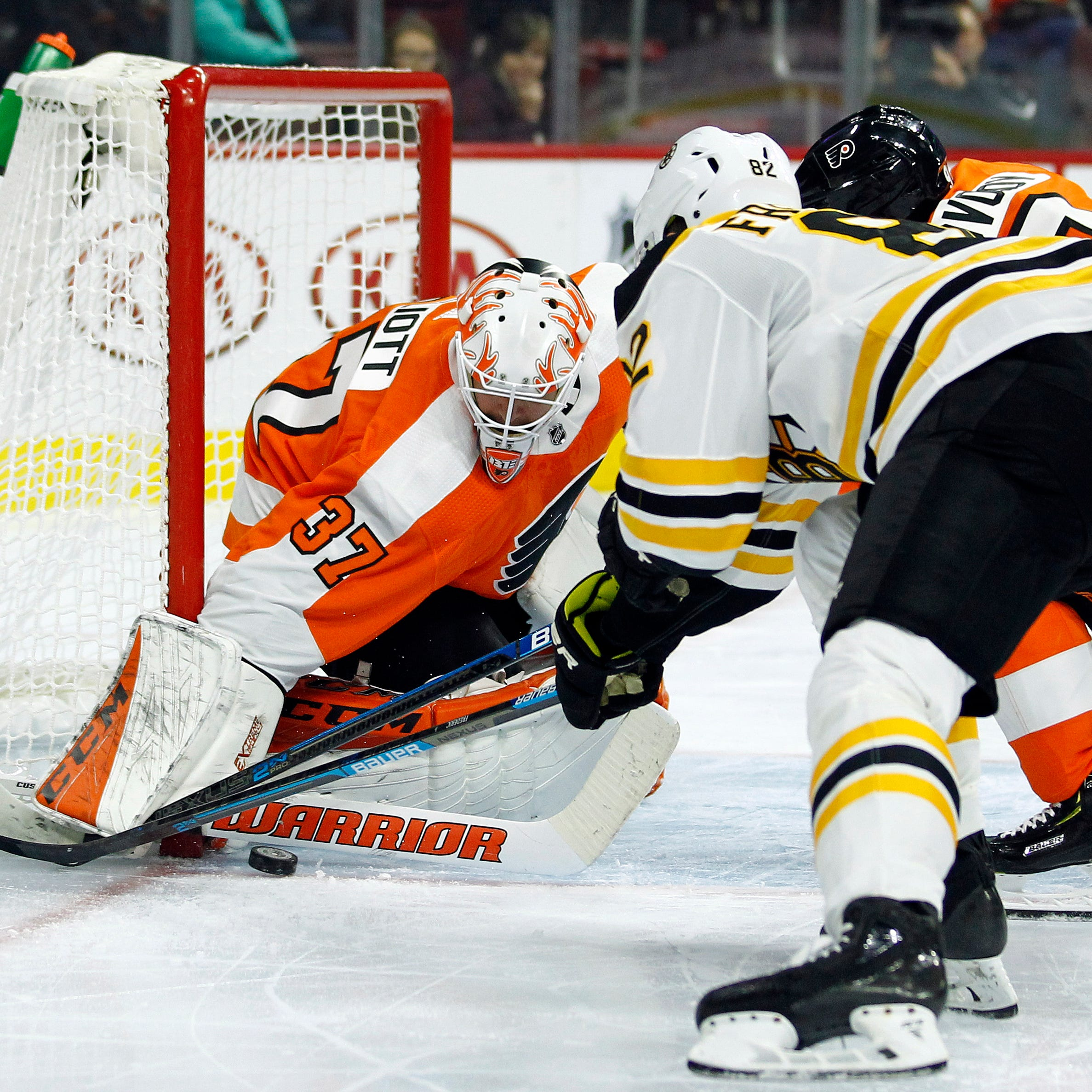 Flyers 5 takeaways: Brian Elliott takes 'big step' in pressurized recovery