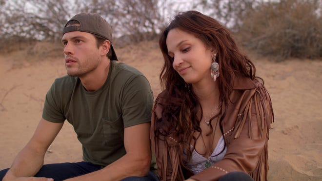 "Will Brandt and Ruby Modine in a still from the movie ""American Desert."" The film is set to be released mid-to-late 2019."