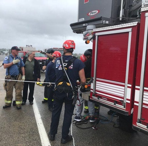 Perth Amboy: Attempted jumper rescued from Victory Bridge