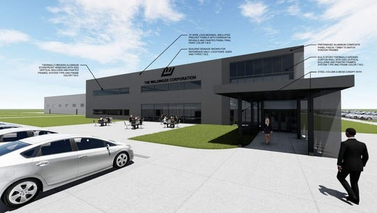 The Waldinger Corp. plans a $21 million facility with 54,000 square feet of offices and a 95,000 square feet of production and warehouse space on the south side.