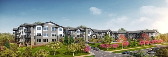 Hubbell Realty Co. broke ground this week on a 55 and older condominium in West Des Moines.