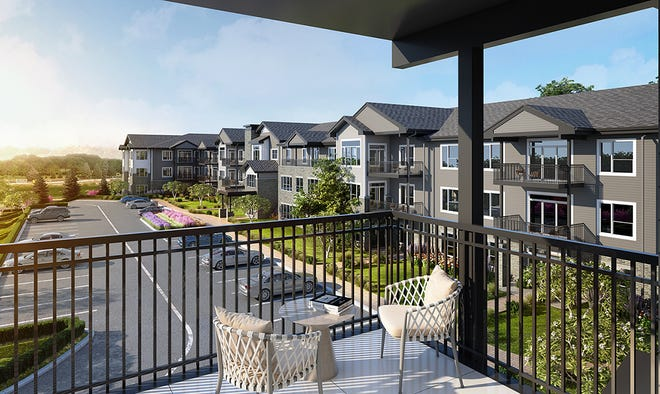 Hubbell Realty Co. broke ground this week on a 55-and-older condominium group in West Des Moines.