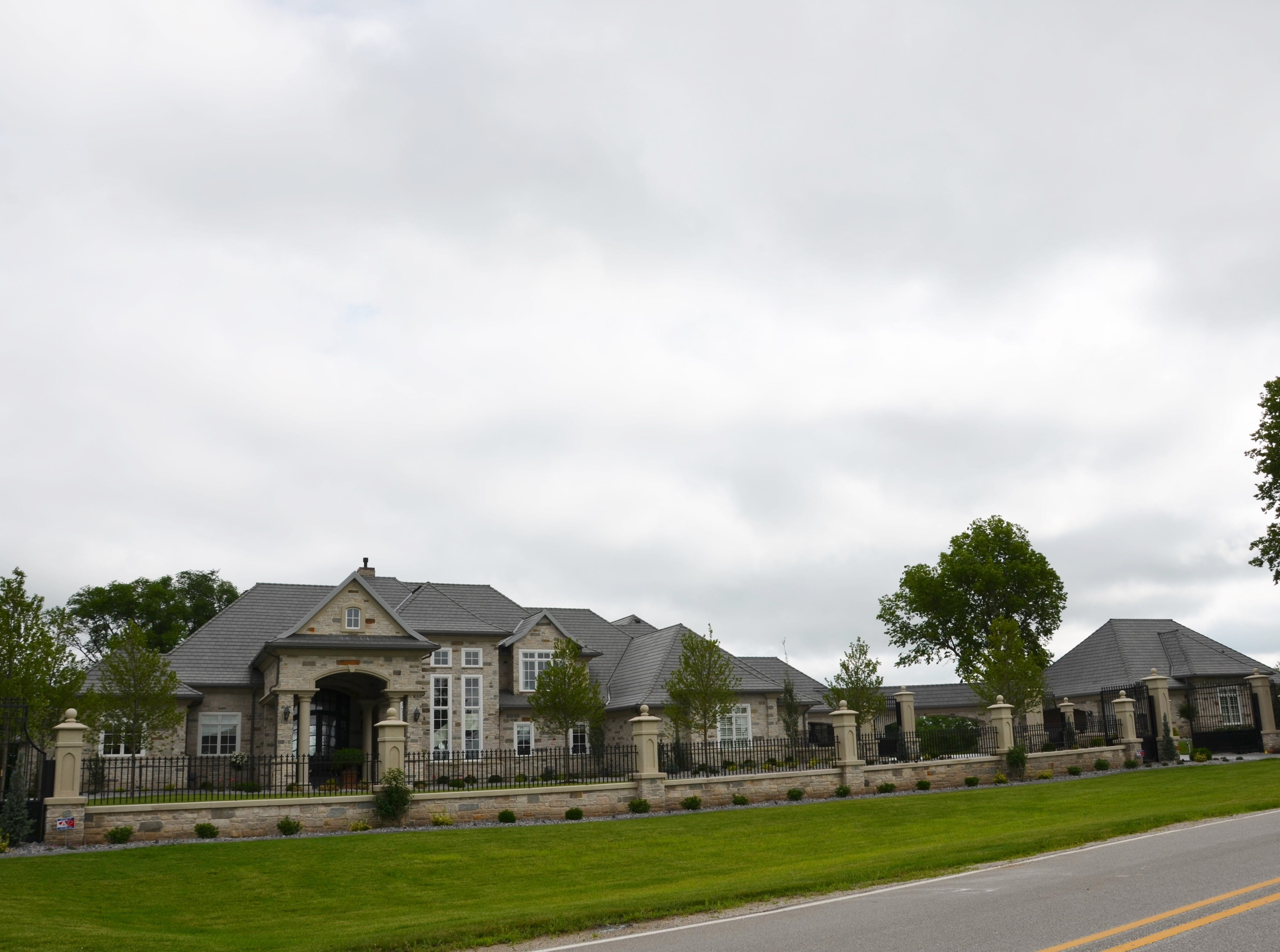 Dennis and Susan have built a new home in Ankeny that sits on the Talons of Tuscany private golf course.