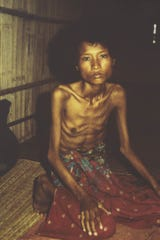 Pol Pot starved millions of his own people in Cambodia.