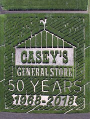 Geisler Farms is honored to help celebrate the 50th anniversary of Casey's General Store.