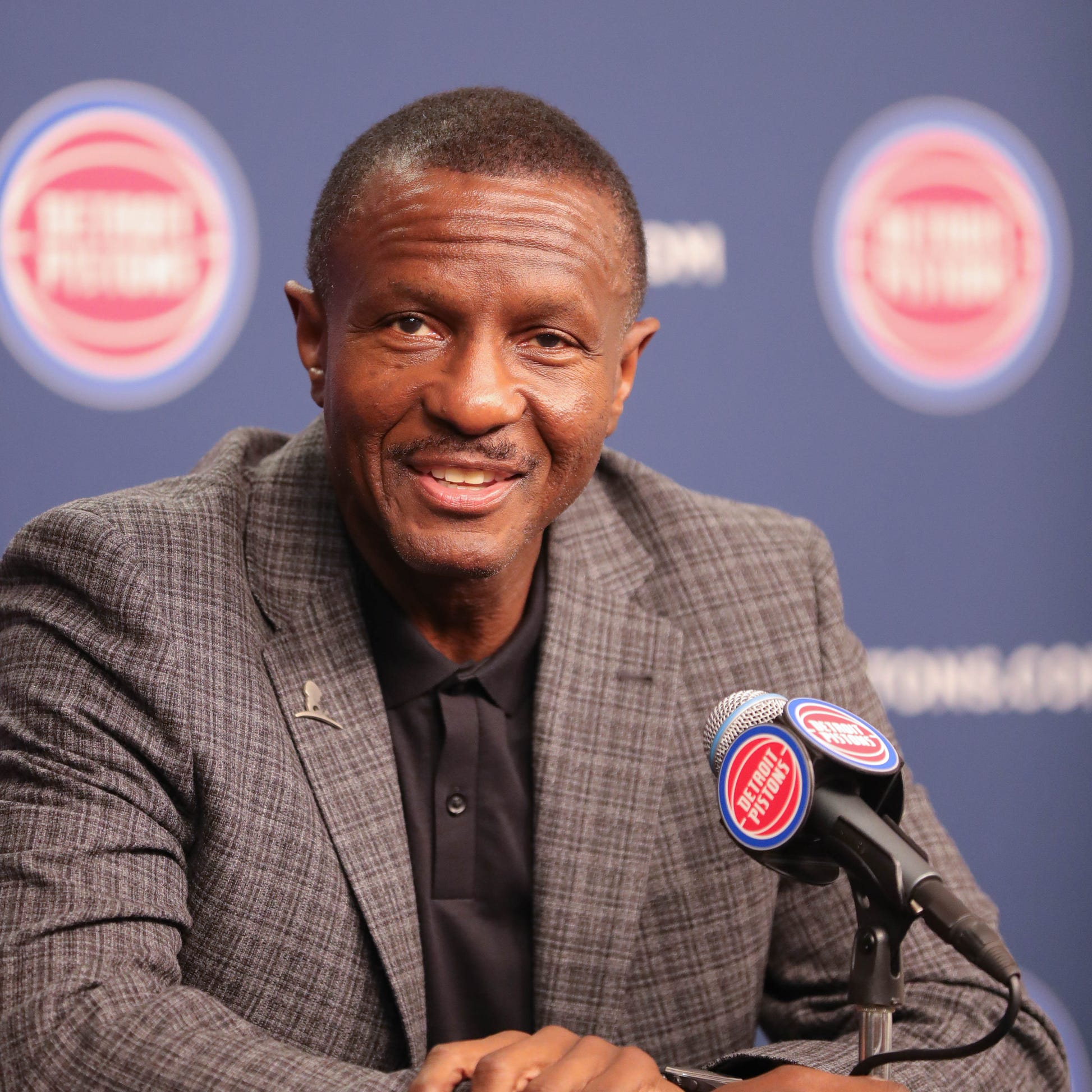 Detroit Pistons build unity in Ann Arbor at Dwane Casey's first camp