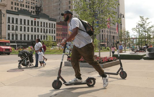 Detroit S Rental Scooter Craze Hits An Obstacle