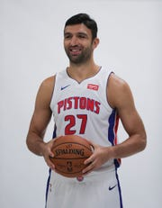 Zaza Pachulia during 2018 media day.