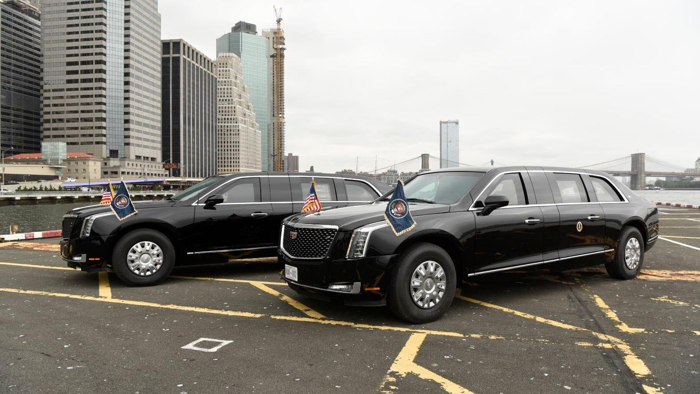 Cadillac Just Built President Trump A Limousine Worth Millions