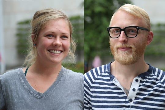 Selden Standard alums Katie Nelson, left, and Michael Goldberg are opening Allenby, a restaurant serving cheffy sandwiches with quality ingredients inside the Fort Street Galley food hall slated to debut in Detroit in mid-November.