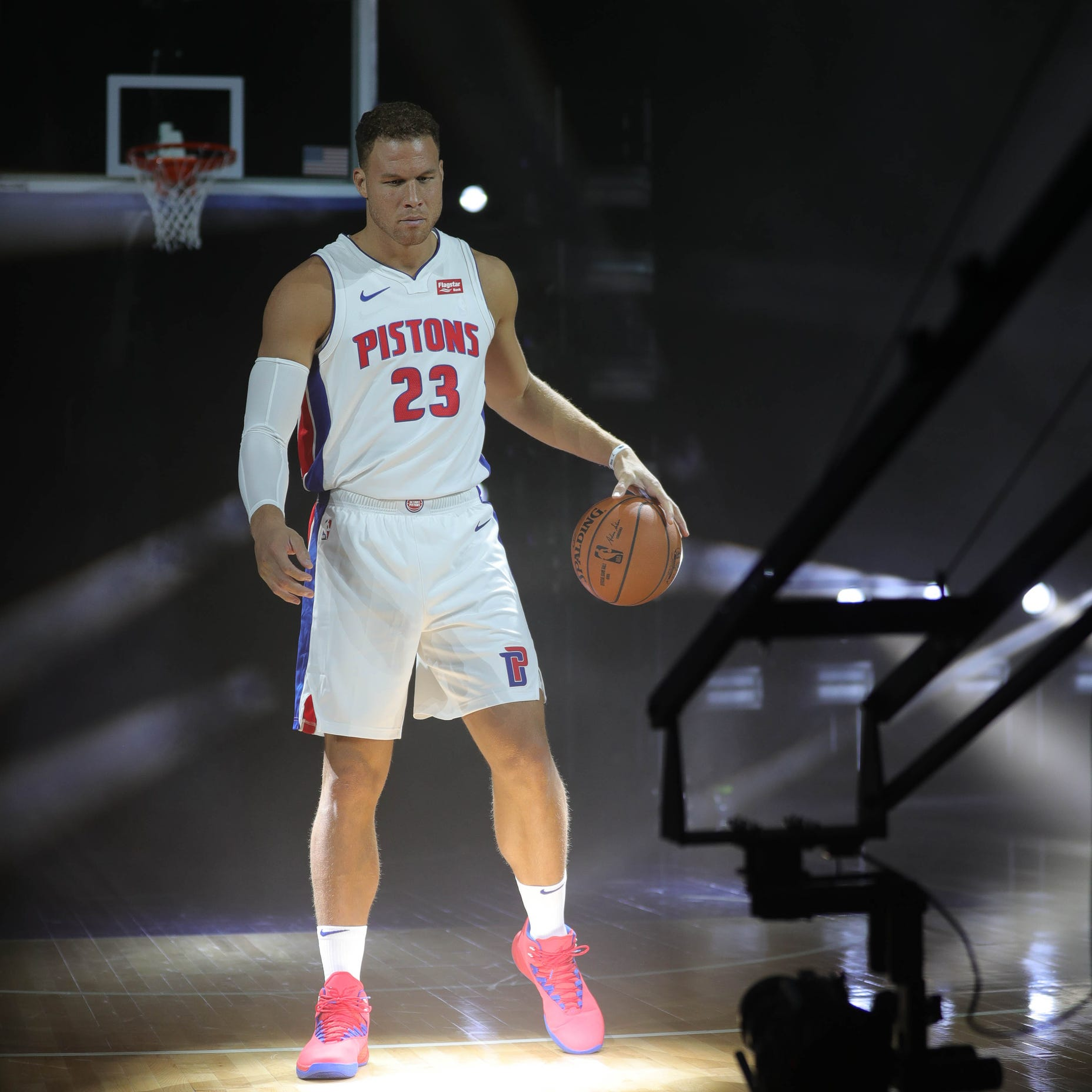 Detroit Pistons' Blake Griffin sets goal: Host 1st round of playoffs