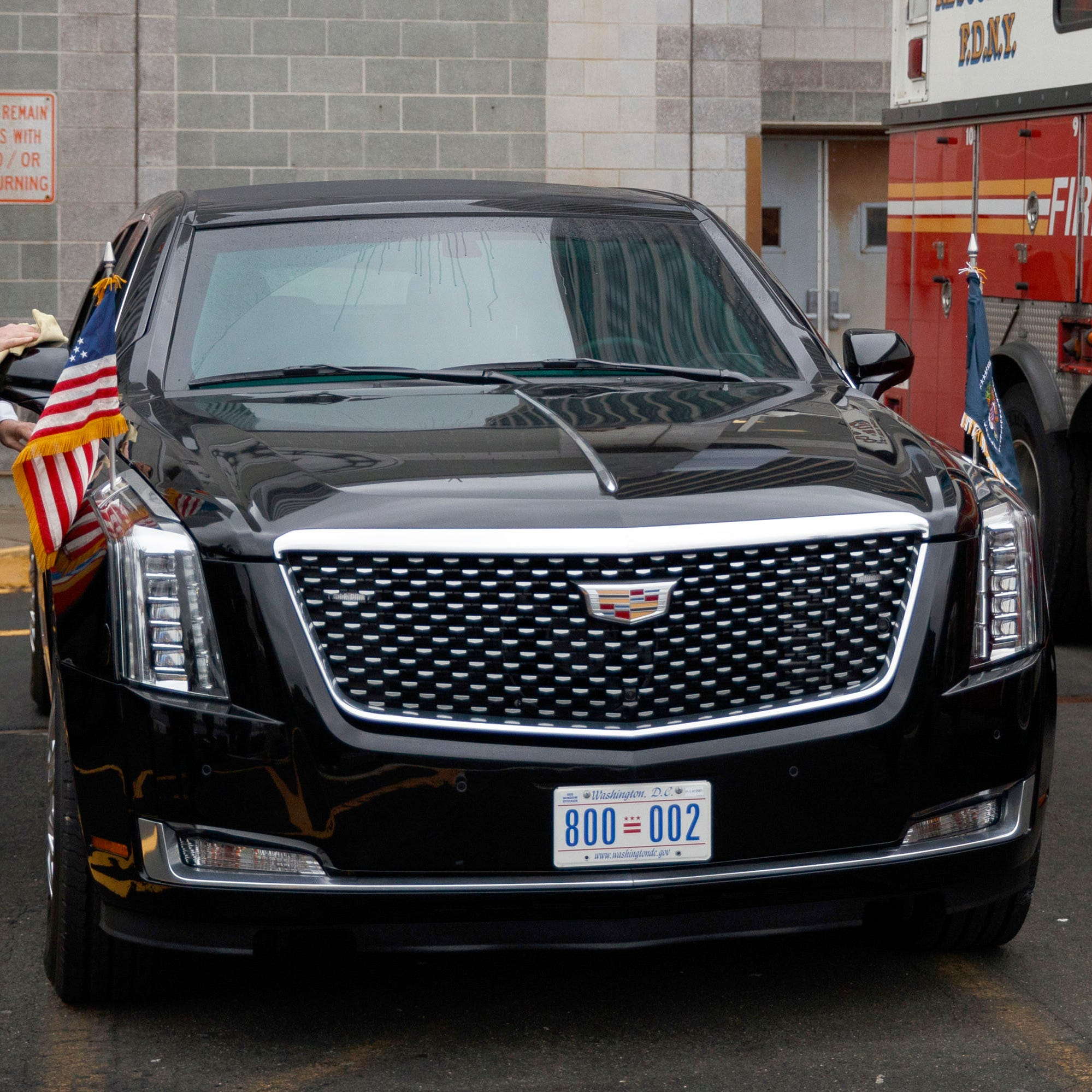 Cadillac just built Donald Trump a beast of a limo worth millions