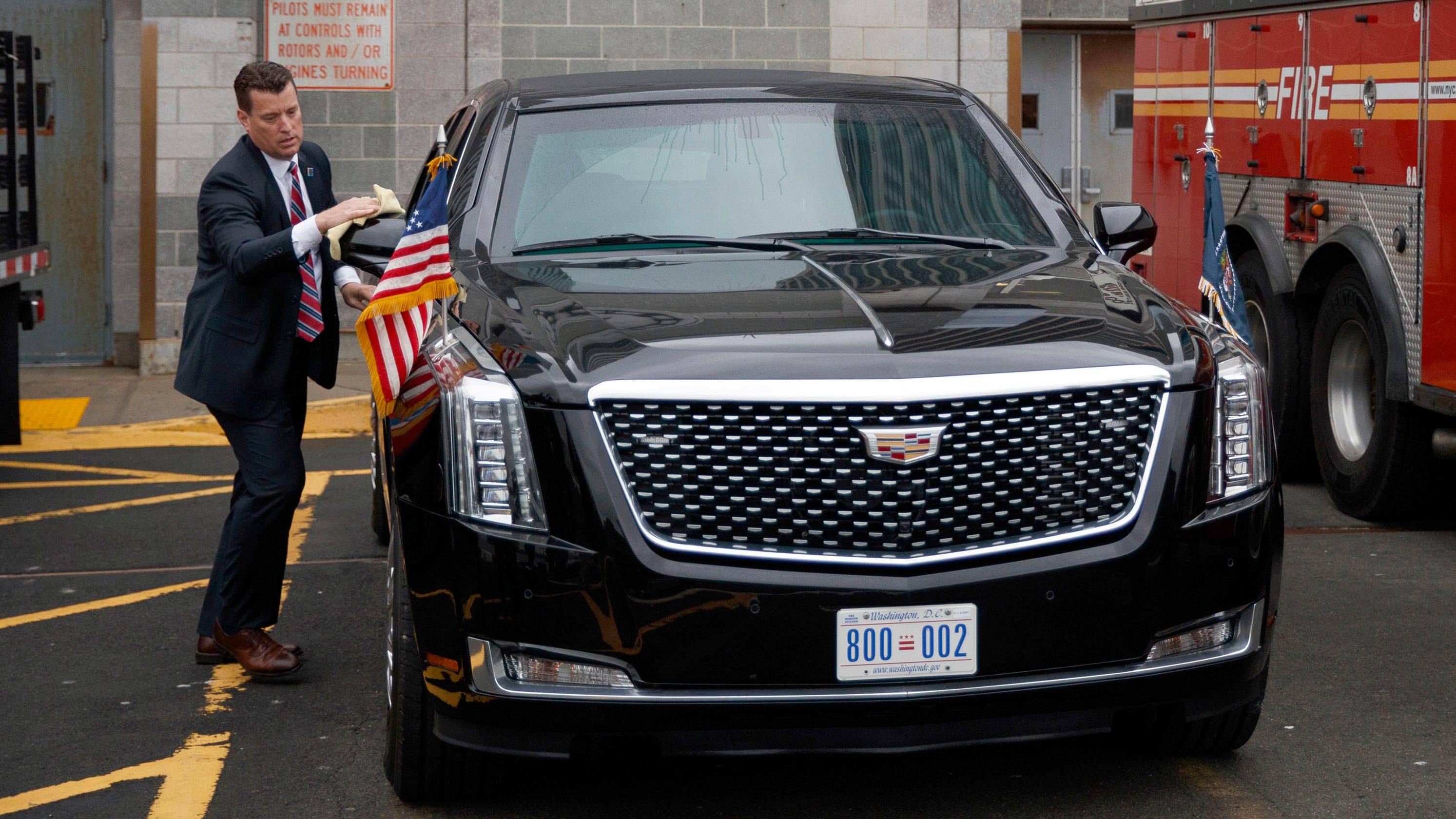 Cadillac Just Built Donald Trump A Beast Of Limo Worth Millions