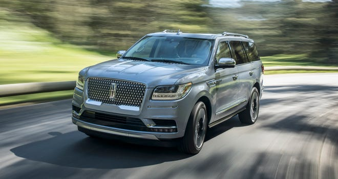 Ford is recalling 38,000 2018 Ford Expeditions and 2018 Lincoln Navigators, shown, withsecond-row center bench seats that may be missingreinforcement bracketsin the seat track assembly.