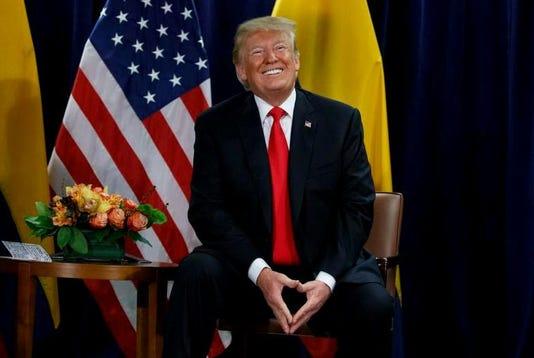 Trump Smiles