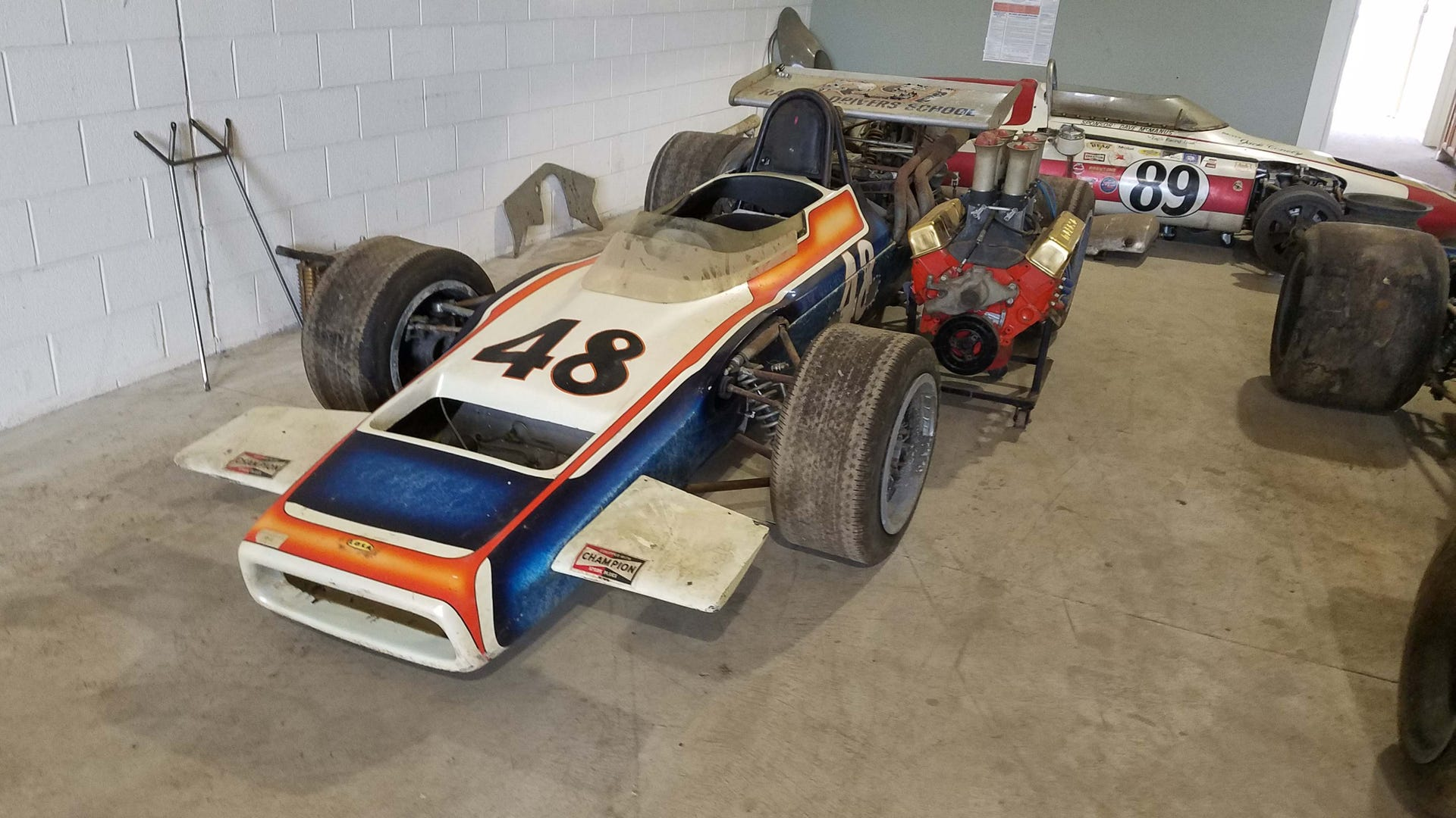 """Jack """"The Brighton Bandit"""" Conely's race cars being auctioned 9969a5d5-5b4e-4fb5-aa25-8dfe3c11f4d0-conely_48-indy_car"""