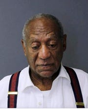 This image provided by the Montgomery County Correctional Facility shows Bill Cosby on Tuesday, Sept. 25, 2018, after he was sentenced to three-to 10-years for sexual assault.