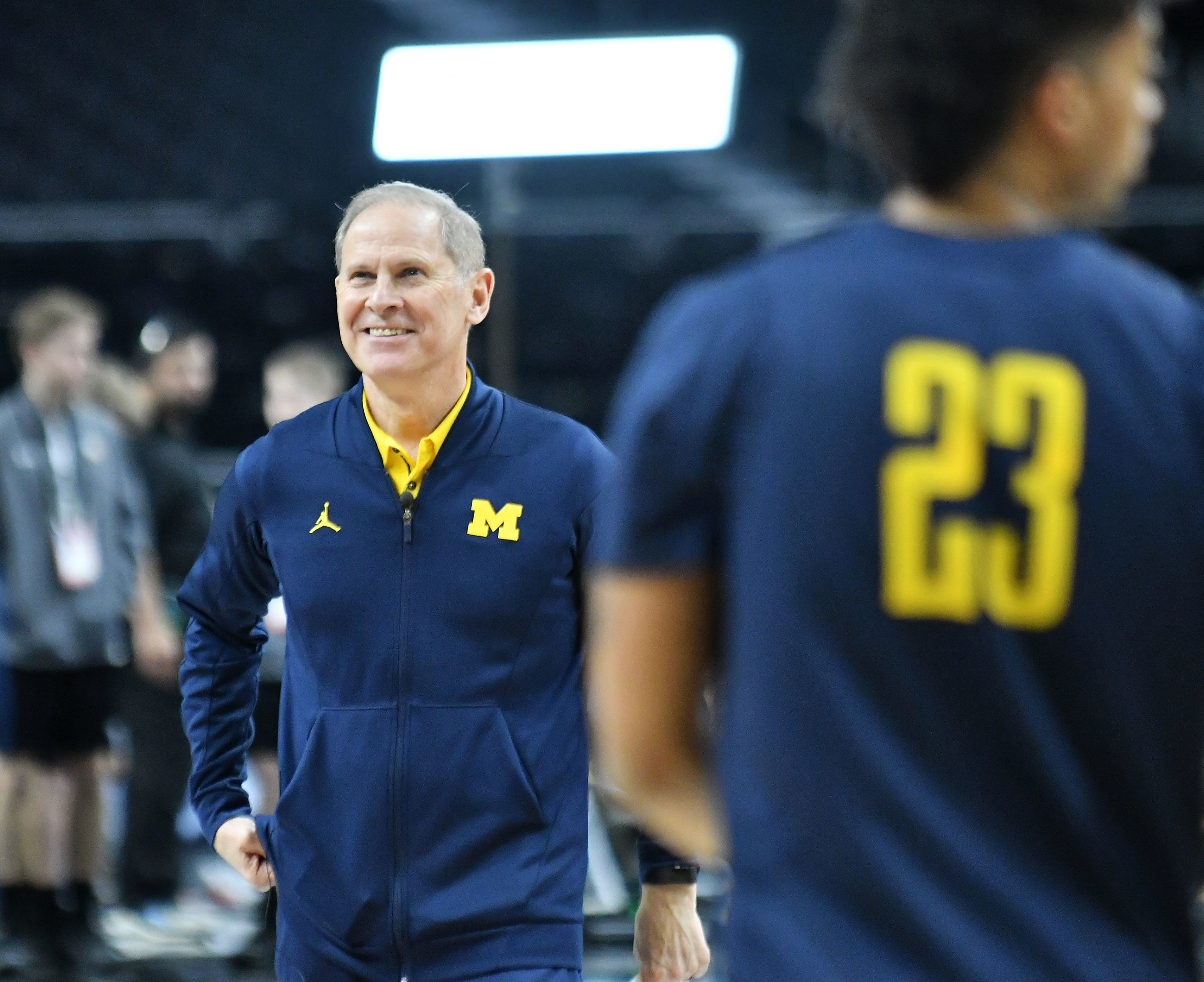 Michigan head basketball coach John Beilein's offseason included interest in the Pistons' heading coaching job and heart surgery.