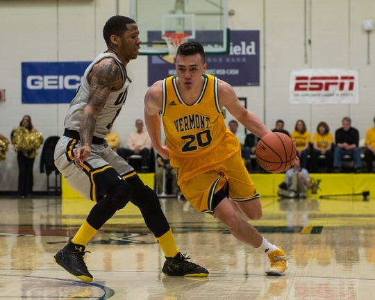 Vermont guard Ernie Duncan was second-team All-America East as a junior as well as a member of the all-defensive team.
