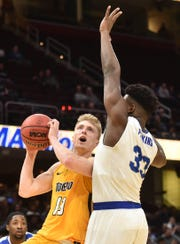 Toledo's Jaelan Sanford averaged 16.3 points and shot 40 percent from behind the 3-point arc last season as a junior.