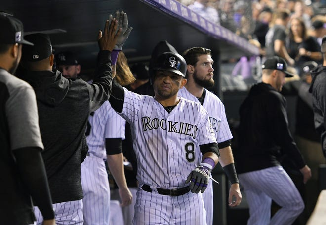 Gerardo Parra and the Colorado Rockies continue a four-game series against the Philadelphia Phillies with a 6:40 p.m. game Wednesday at Coors Field. The game will be televised live by AT&T-Rocky Mountain.