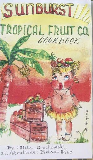 Cookbook cover by Mel Meo
