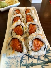 Brahma Sushi offers freshly made rolls and vegan options at its counter in the Cohen Center at FGCU.