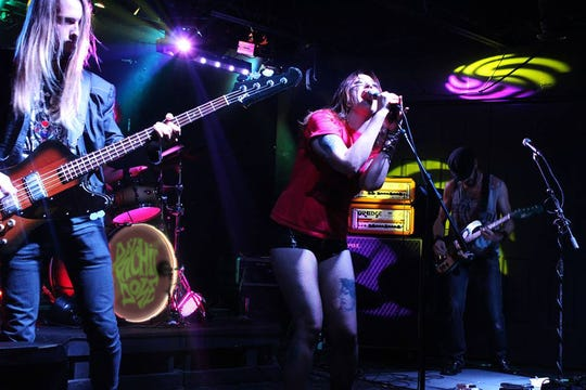 Local metal band Psychic Dose