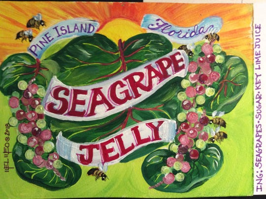 Seagrape jelly, by Mel Meo