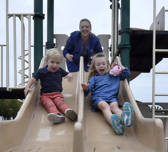 Nicole Allen, mother of Aiden and Madison, is on the board of directors planning to launch Door County Children of Hope, a non-profit day-care facility in Sturgeon Bay. Tina M. Gohr/USA TODAY NETWORK-Wisconsin