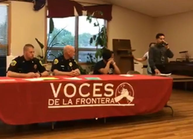 Green Bay officials, Voces de la Frontera on Monday night address recent ICE arrests in the Green Bay area.