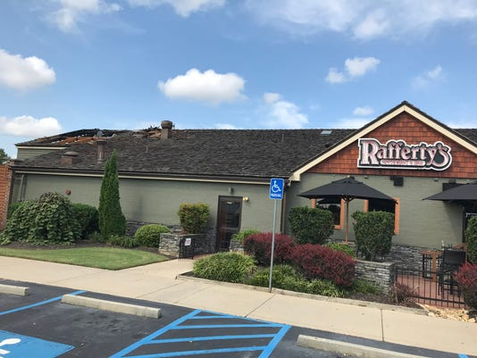 Rafferty's fire in Greenville