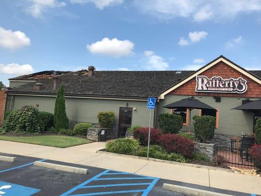 Rafferty's fire in Greenville
