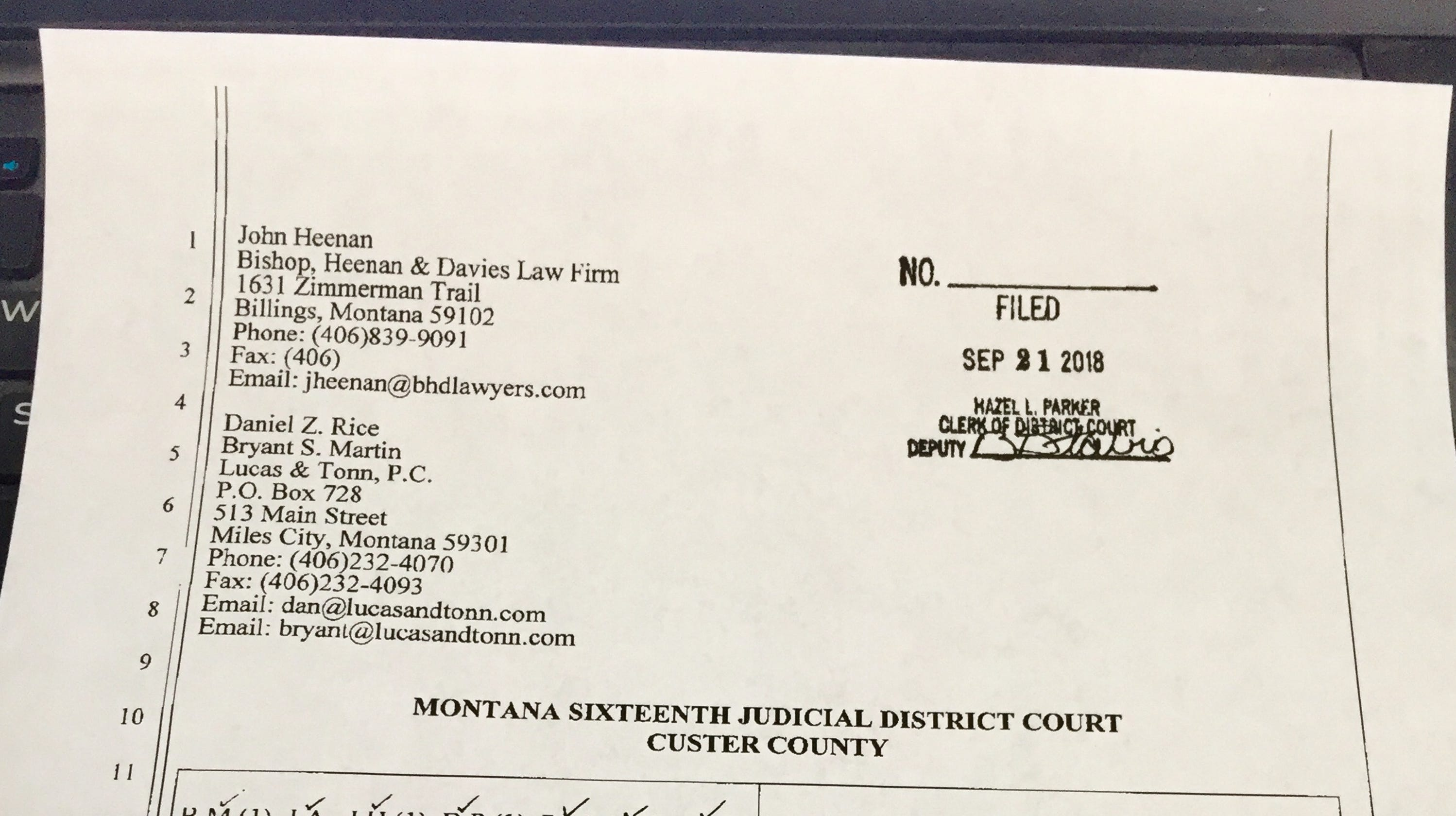 Group Says Miles City Montana Man Never Certified As Athletic Trainer