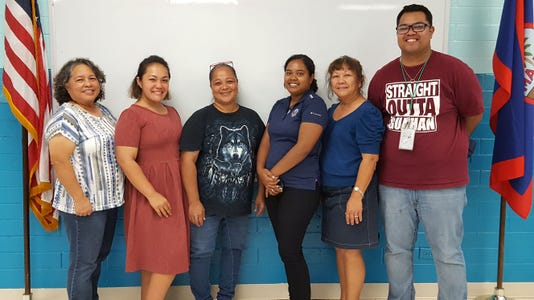 New Pto Officers Of Guahan Academy Charter School