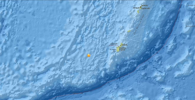 A 4.4 magnitude earthquake struck Guam early Wednesday morning.