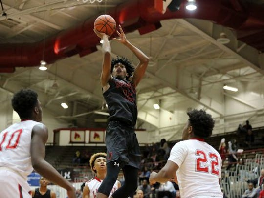 Keion Brooks Jr. is considering six schools.