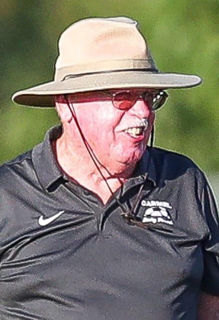 Carmel head coach Frank Dixon.