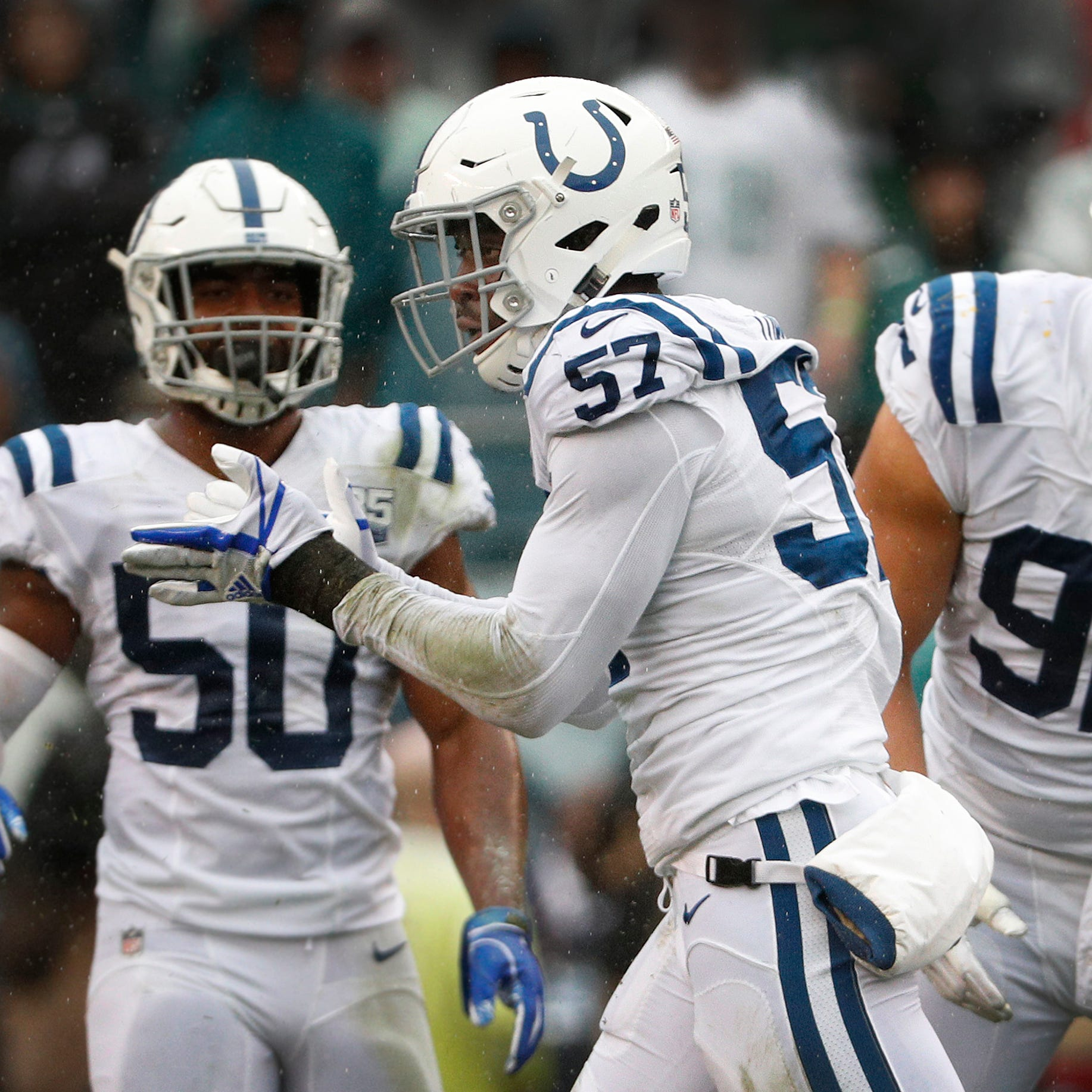 Another Colts rookie make his mark on defense