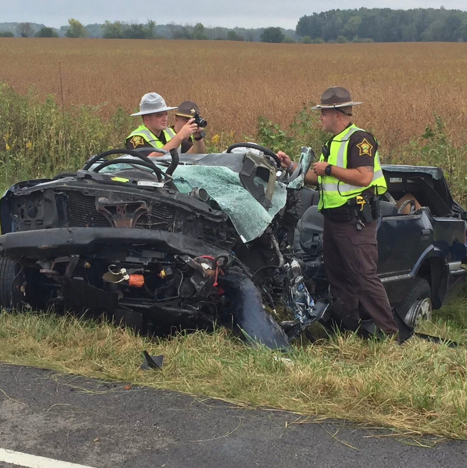 Sheriff's office: Driver in deadly crash may have intended to travel wrong way on U.S. 40