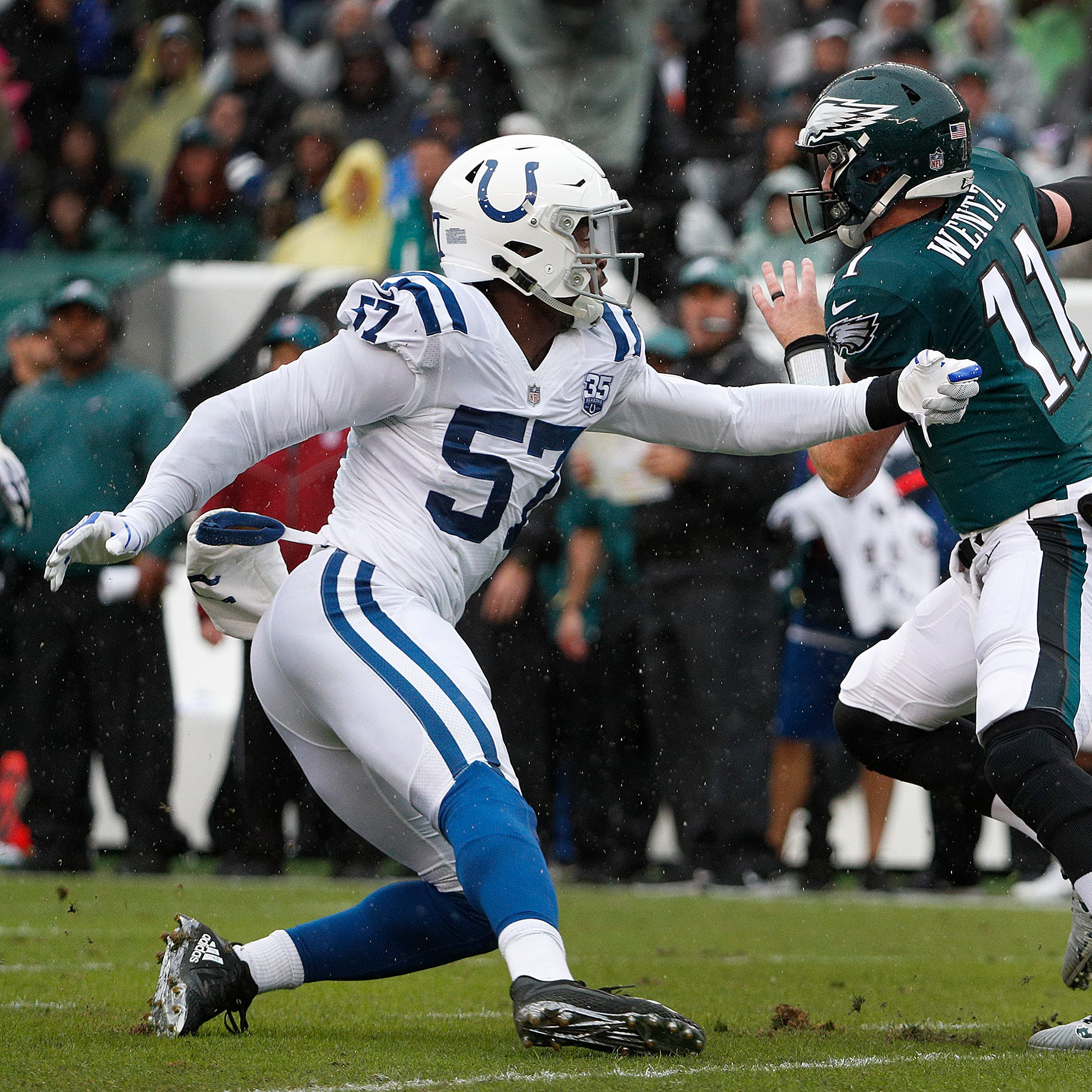 Colts: Game beginning to slow down for rookie, Robert Mathis pupil Kemoko Turay