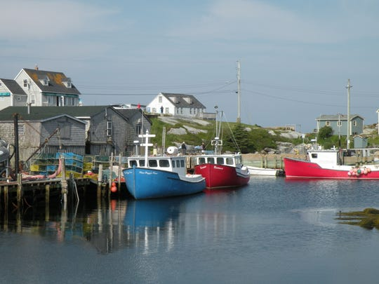 Tucked away on a side road, the fishing village of Peggy's Cove is also an artist colony. It is a much-loved destination on Nova Scotia's South Shore.
